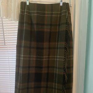 Worthington Skirts - 🧜♀️NWOT Worthington WrapAround Fringe Skirt🧜♀️